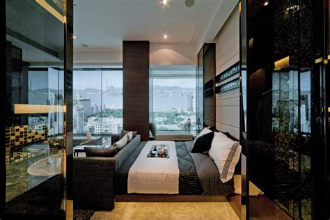 Cool Contrast Apartment Window Bedroom Steve Leung House Interior Architecture Design