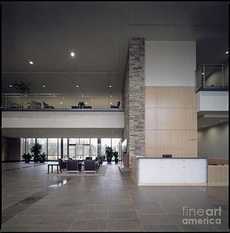 modern lobby modern lobby photograph by robert pisano