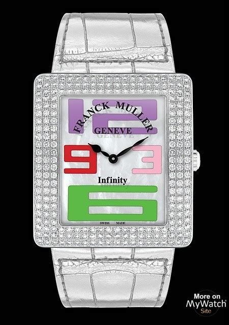 Franck Muller Infinity Colour Dreams White franck muller infinity reka the infinity collection 3740 qz a color d3 nacre