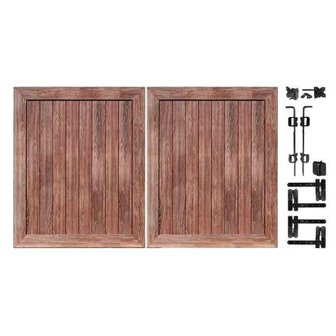 pro veranda veranda pro series 5 ft w x 6 ft h walnut vinyl anaheim