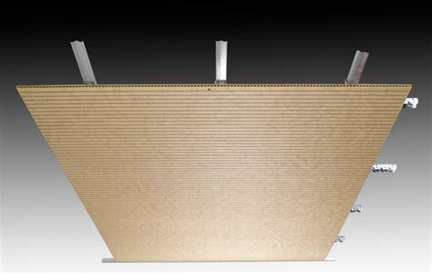 controsoffitti legno controsoffitto in legno pannelli fonoassorbenti per