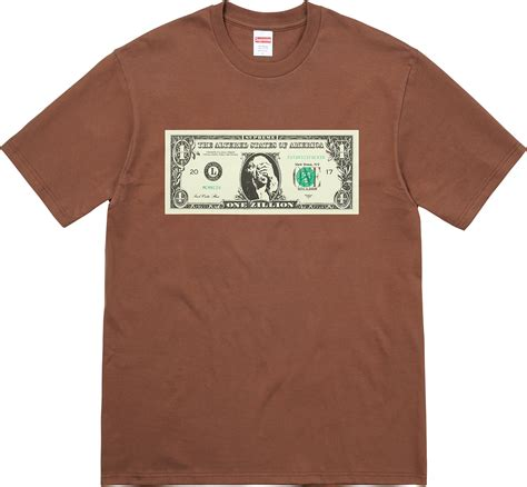 t shirt supreme supreme dollar