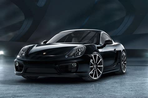 cayman porsche black 2016 porsche cayman black edition shows off stealth beauty