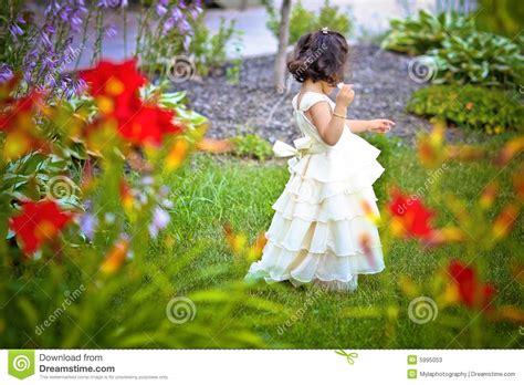 princess in the garden stock photos image 5995053
