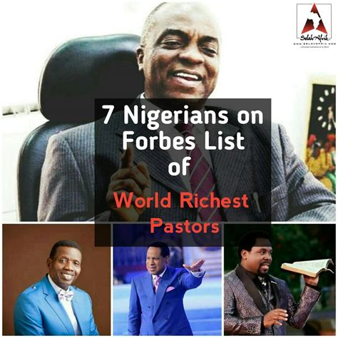 Forbes Ranking Richest Pastors In Africa And Their Assets 2017 by List Richest Pastors Picture 7 Nigerians Make Forbes List