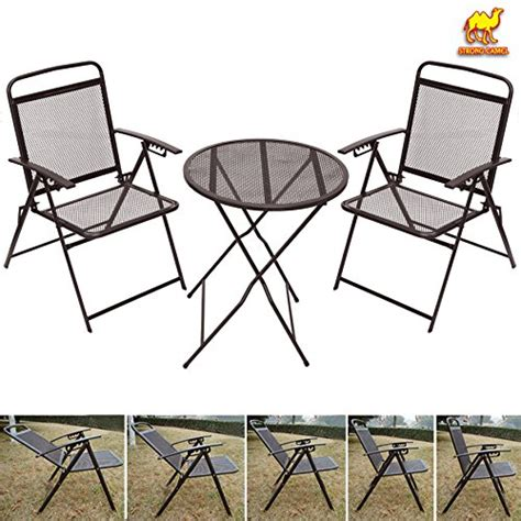 Wrought Iron Bistro Table And Chairs Strong Camel Bistro Set Patio Set Table And Chairs Outdoor Wrought Iron Cafe Set Metal Coffee