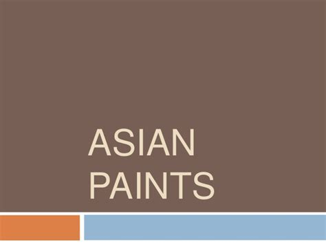 In Asian Paints For Mba Marketing by B2 B Asian Paint