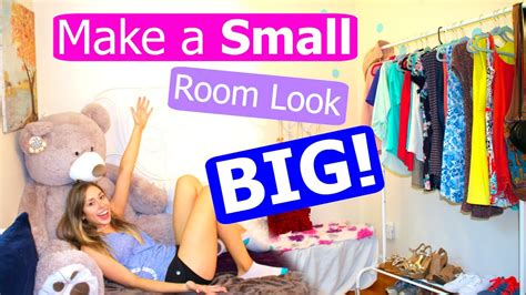 how to make your bedroom look better 10 tips lifehacks to make your room look bigger youtube