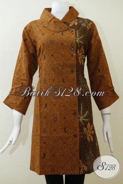 Dress Bahan Dan Motif Baru jual dress batik wanita motif klasik model paling baru