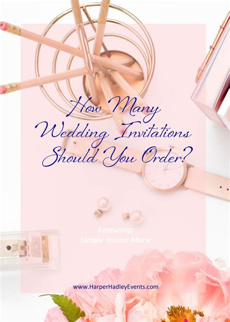 when should you order your wedding invitations hadley events llc