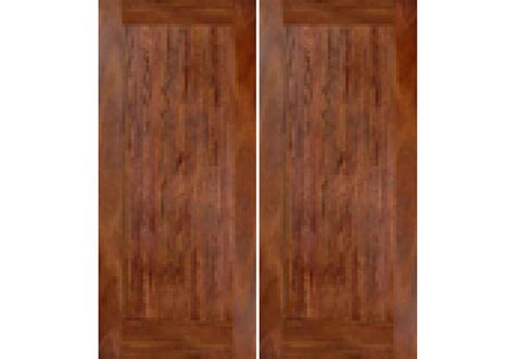 Ma110 1 Panel Shaker Flat Panel No Sticking Mahogany Mahogany Interior Doors