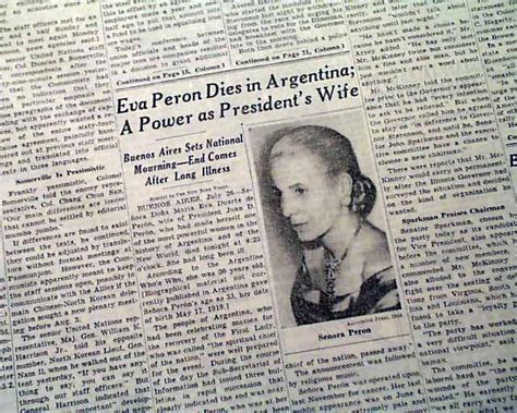 Of Eperon First Lady Of Argentina