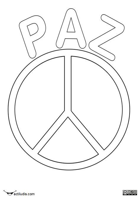 imagenes sobre justicia para colorear s 237 mbolo de la paz dibujalia dibujos para colorear