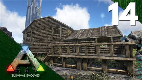 ark house design xbox one ark survival evolved gameplay e14 house build youtube