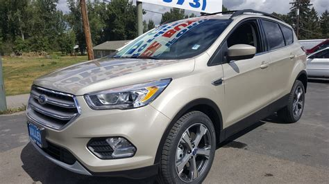 2017 ford escape white gold paint walkaround
