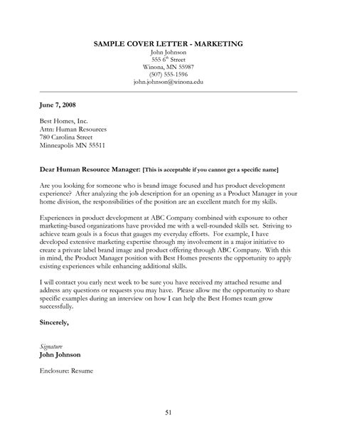 Finance Associate Cover Letter by Brand Manager Cover Letter Sle Guamreview
