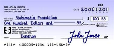 Do You Write Out Dollar Amounts In An Essay by How To Write A Check Cheque Writing 101