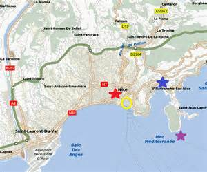Map Of Nice France by Map Of Nice France Area Pictures To Pin On Pinterest
