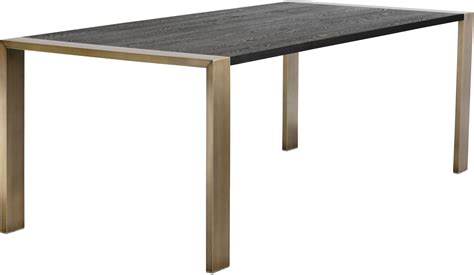 dalton black dining table 102072 sunpan modern home