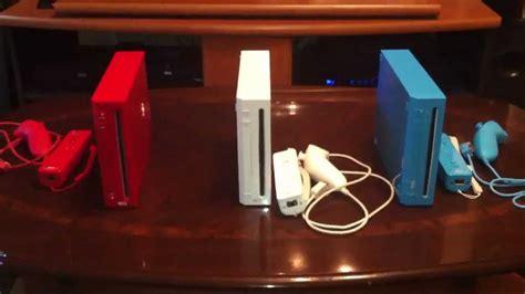 console colors nintendo wii console color review