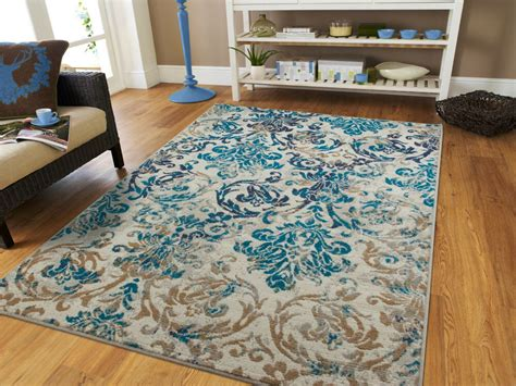 area rugs for room modern rugs blue gray area rug 8x10 living room carpet 5x8 chrysanthemum rugs 2x ebay
