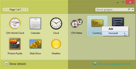 install windows 10 gadgets how to get windows 7 like desktop gadgets on windows 10