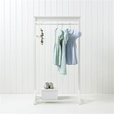 white childrens clothes rail  nubie modern kids