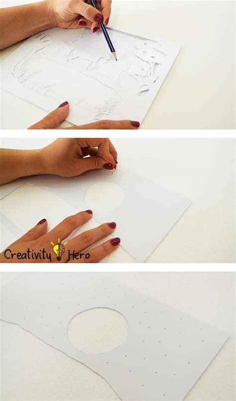 How To Make 3d Pictures On Paper - how to create a 3d paper cut light box diy project