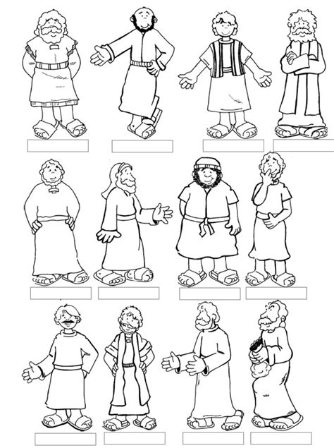 the sick coloring pages 12 disciples google search
