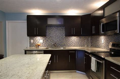 backsplash tile for dark brown cabinets kitchen glass tile backsplash ideas ceramic area