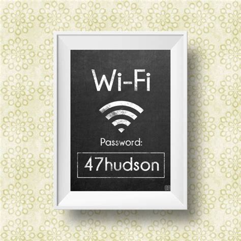Wifi Password Courtesy Card Templates by 17 Best Ideas About Wifi Password Printable On