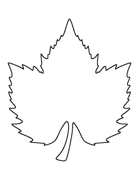 leaf template pdf 1000 images about printable patterns at patternuniverse