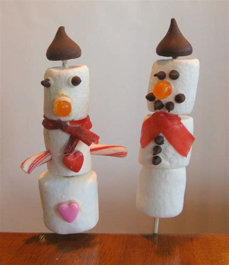 easy crafts for marshmallow snowmen marshmallow snowman crafts for