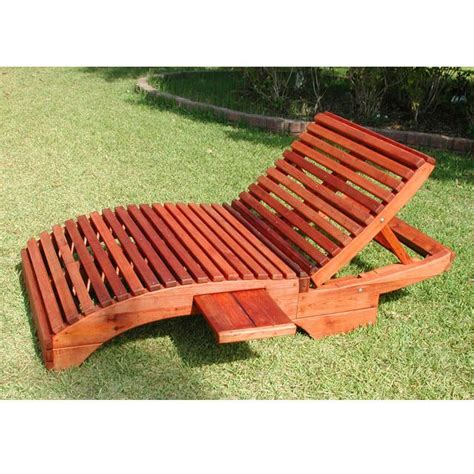 redwood outdoor pennys honeymoon lounger wooden loungers