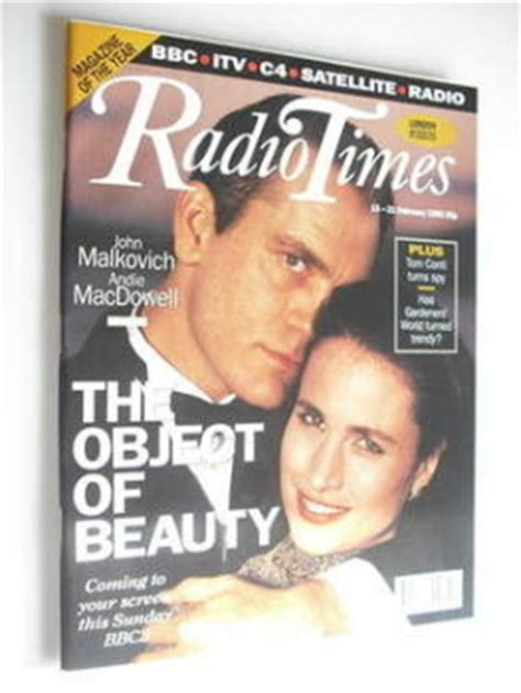 john malkovich radio times radio times magazine back issues vintage magazines for
