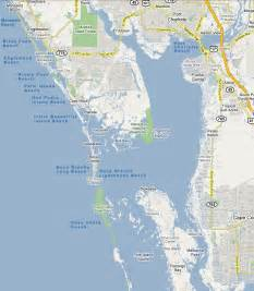 map of islands south of florida beaches cape fl englewood florida beaches gulf
