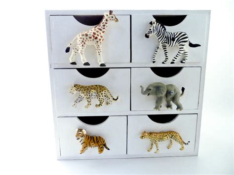 Jungle Drawer Knobs by Safari Animal Elephant Bedroom Cupboard Or Wardrobe Knob