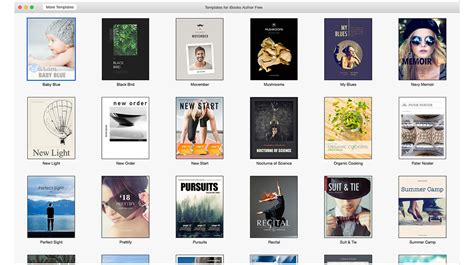 ibooks templates free ibook author templates sameness of ebook templates limits