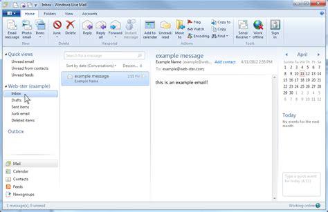 email windows windows live mail web ster com northwest internet service