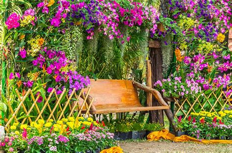 Flower Garden Fence 45 Beautiful Fence Planters Decorate Your Garden Fence Designing Idea