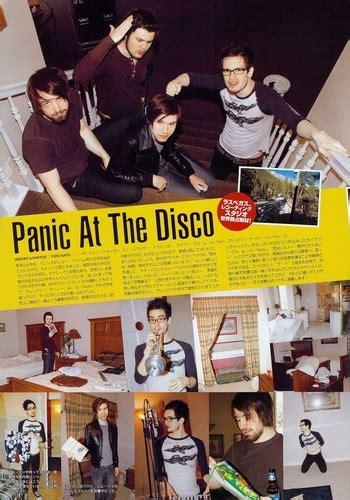 panic at the disco a picture with books panic at the disco images in rock japan unknown issue