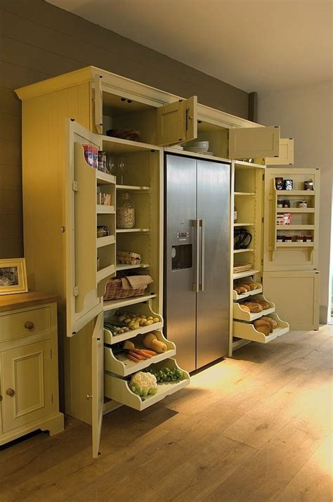 cabinet food storage kitchens