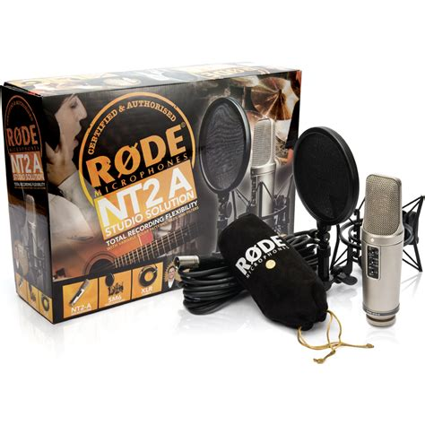 Paket Kefir By Dje Store rode nt2 a studio solution pack microphone bundle the