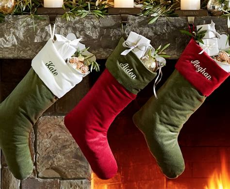 christmas stockings sale pottery barn clearance up to 60 off sale christmas stockings 6 99 and more freebies2deals