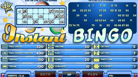 Instan Bergo bingo empire uk previews
