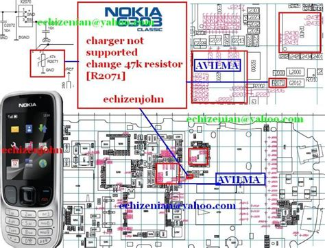 47k resistor in nokia 5130 nokia mobile repair nokia 6303c not charging charger not supported solution