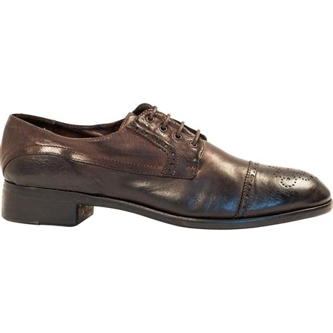 oxford shoes brown dip dyed brown leather oxford shoes paolo shoes