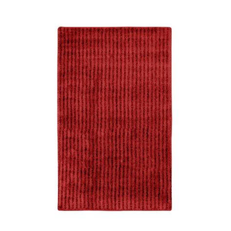 30 X 50 Kitchen Rugs Garland Rug Chili Pepper 30 In X 50 In Washable Bathroom Accent Rug She 3050 04