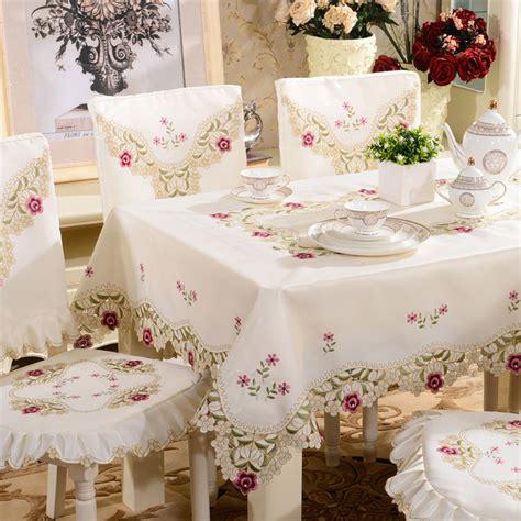 Taplak Meja Makan Plastik Bulat Anti Air Bunga Sepatu Pink kursi penutup busana bordir kain meja makan kain taplak meja meja kopi pelari kursi meliputi