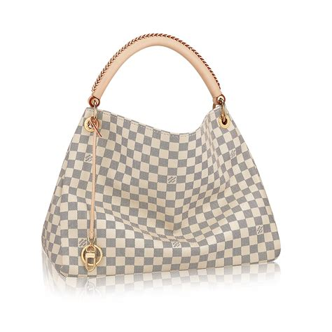 Home Decor Stores In Usa by Artsy Mm Damier Azur Canvas Handbags Louis Vuitton